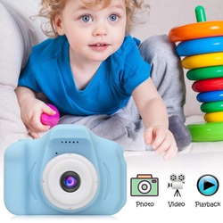 Kids Shock Absorbent Digital Video Camera Children taking their own photos perfect gift for photographers express their imagination and creativity videos USB taking silicone shocks shockproof SD card pictures photos Photography photographer photograph photo megapixel LCD kids kid holidays HD girls girl gift childrens child capturing Capture cameras boys boy