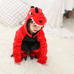 red Kids Dinosaur Playsuit Perfect for kids creative play dressing up cute fancy dress, costume play gift Jurassic fun toys toy T-Rex Stegasaurus roar red pyjamas playsuits plays playing pjs PJ kid's jurrasic Home green girls girl dress-up dinosaurs dinosaur dino costumes christmas childrens Children child boys boy
