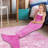 Kids' Mermaid Tail Blankets