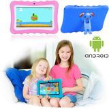 Kids' Quad-Core HD Tablet Get your kids these next generation tablets! Brilliant for children's learning, intellectual development, & entertainment tablets quad pcs pc kid-safe kid's kid ipads ipad inch girls girl gift entertainment educational education Core childrens Children child boys boy android 8GB 7""