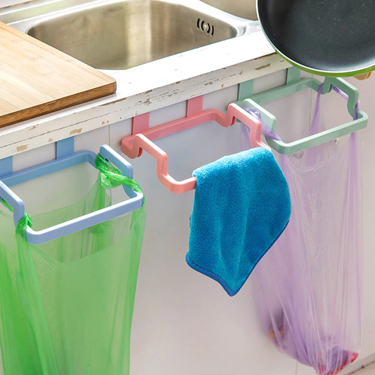 Kitchen Cabinet Door Hanger Keep your kitchen tidy and organised towels towel Storage Rubbish racks Rack organizer organization Organisers Organiser organised organise kitchens kitchen gadget kitchen accessories kitchen hanging hangers Hanger hang Garbage doors door cabinets Cabinet bins bin bags Bag backs