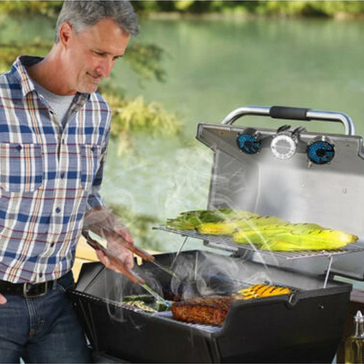 LED BBQ Grill Light & Fan Become barbecue pro with LED BBQ grill light fan system re-direct BBQ smoke away from the eyes whilst cooking women sunny summer solar-powered solar sausage Men Light LED halloumi grilling grill gift garden fun foodie food fan Cool cooking cook chef burgers burger bbqs BBQ barbeques barbeque barbecues barbecue alfresco