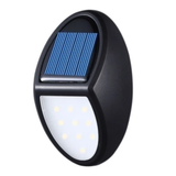 LED Waterproof Solar Wall Light Light up your garden the eco-friendly way wireless Weatherproof waterproof water resistant walls wall sunlight solar-powered solar panel solar charge shed Powered power supply porch polycrystalline patio on lumens lumen Low lighting Light's Light led's LED lamp IP65 gardens garden garage frost resistant