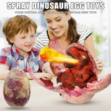 Dinosaur Egg Spray Toy Young light effect vapour spraying T-Rex toy The eggs opens Eyes and mouth light up perfect gift for children Jurassic Unisex toys toy sprays spray Roar rex presents present kids Hatchling hatching hatch Girls Girl Gift eggs egg dinosaurs dino christmas Children's child Boys Boy