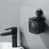 Wall Mounted Liquid Soap Dispenser Keep your sinks and basins clutter free with this wall mounted washing wash wall tidy soapy soaps soap small sinks sink sanitiser safe rooms neat mum mounted modern lather hygienically hygeinic hygeine homes Home hands hand functional function design compact cleaning clean Children child bathrooms bathroom basin