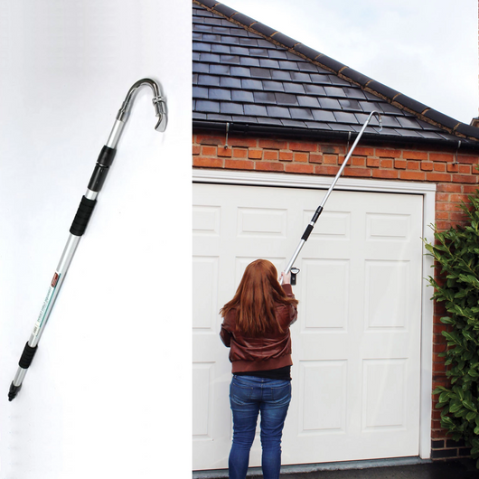 Large Telescopic Gutter Cleaner Pole