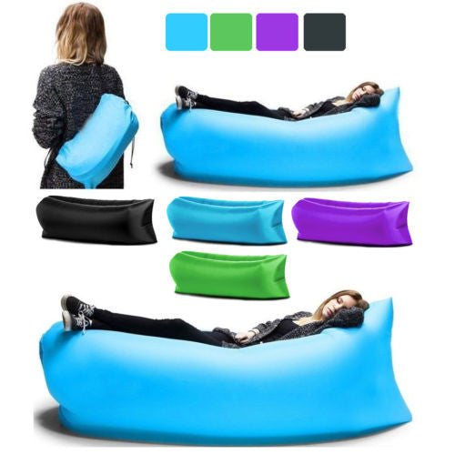 Sensible Fast Inflatable Lazy Bag Air Sleeping Bag Outdoor Inflatable Sofa Portable Beach Inflatable Sofa Camping Air Sofa New As Effectively As A Fairy Does Sports & Entertainment Sleeping Bags