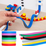 Lego-Compatible Building Block Strips