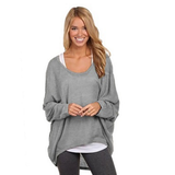 Lightweight Oversized Knit Top