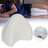 Orthopaedic Body Alignment Leg Pillow Stabilise the pelvis restore alignment of the back, hips and knees, and reduce sciatic nerve discomfort wedges wedge supports supportive support Sleepwear sleeps sleeping sciatica sciatic protects protective protection protecting Protected protect pillows PILLOWCASE memoryfoam leg's leg Knee hip for better sleep