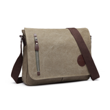 Men's Canvas Messenger Bag Keep of your essentials in one place with this men's canvas messenger bag Made from 100% rugged canvas zips work travelling travel strap shoulder school rugged roomy Pocket phone bag Messenger Men's mens Men mans man In guy's guy folder comfort college carry Canvas boys boyfriend's Boyfriend boy bags baggage bag