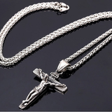 Men's Crucifix Pendant Chain