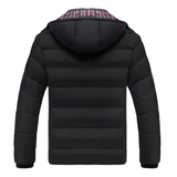 Men's Thermal Down Jacket Upgrade your winter coat padded synthetic down jacket Winter warmth warming Warmer Warm Thick Thermal Parka's Parka Men's mens Men man Male jacket's jacket guy fashionable Fashion down dad's dad coat's coat boys boy