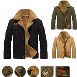 Men's Winter Pilot Jacket Keep warm and smart Straight cut, for a slim smart casual fit great paired with a shirt or hoodie Classic pilot jacket design,winter warmth warming Warmer warm Thick Tactical size Plus Pilot Men's mens Men Male jackets Force fashionable fashion collar coat's coat Bomber