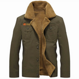 green Men's Winter Pilot Jacket Keep warm and smart Straight cut, for a slim smart casual fit great paired with a shirt or hoodie Classic pilot jacket design,winter warmth warming Warmer warm Thick Tactical size Plus Pilot Men's mens Men Male jackets Force fashionable fashion collar coat's coat Bomber