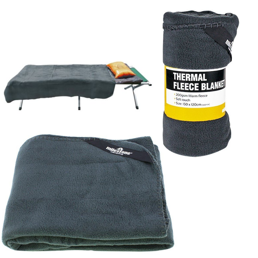 Milestone Thermal Fleece Blanket