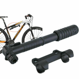 Mini Bike Pump and Holder portable high-volume barrel fill bicycle tyres quickly Equipped with air clip, on bicycle frames valves Valve tyres tyre tiny small pumps Pumping multi-functional Multi Miniature Mini Lightweight Inflators Inflator gift Fitment cyclists cycling cycles cycle bikes bicycles air pump