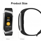 Multi-function Activity Bracelet essential apps monitor your fitness health data work waterproof water resistant watch tracking track steps Smartwatch smartphone running Rate multi-functional jogging iPhone IP68 IP67 heart rate monitor health gym goals fitness tracker fit cycling cycle bracelet blood pressure Activity Active