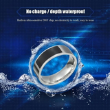 NFC Waterproof Smart Ring microchip syncs with your smartphone discreet use of your apps Perfect for smart lock, card recharge, smart phone unlock, windows wear waterproof water resistant technology sync smart Rings multifunctional microchip micro-chip Magic iPhone internet intelligent fingers finger Cool chip charge card Apps android