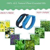 Natural Mosquito Repellent Wristband