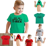 Ask Me About My T-Rex T-shirt Dinosaur loving children novelty fearsome lovely quirky gift Jurassic triassic top Tee t-shirts t-shirt t-rex roar rex novelty gift novelty Me kids jurrasic girls girl funs funny fun family fun dinosaurs dino creteceous comedy clothing clothes childrens child cheeky boys boy