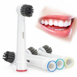 Oral-B Compatible Charcoal Infused Toothbrush Heads Give your electric toothbrush an eco-friendly, natural these Oran-B compatible bamboo bristled, charcoal infused, toothbrush heads Whitening White toothpaste toothbrushes toothbrush tooth teeth smile heads head eco friendly Eco dentists dentist dental Compatible Charcoal brushing Brushes brush Bristles Bamboo