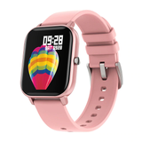 rose pink  P8 Smart Watch The latest generation capacitive touch screen Women's womens women watches touchscreen smartwatches Smartwatch smartphones smartphone smart phone sleep Pressure P8 Monitors Monitoring Men's mens Men Inch heart rate monitor GTS Full For fitness tracker COLMI blood pressure oxygen flow circulation 1.4