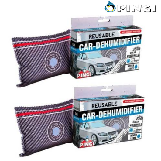 Pack of 2 Pingi Car Dehumidifier Bags