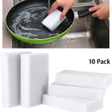 Pack of 10 Magic Melamine Cleaning Sponges