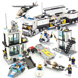 Police Station Building Blocks