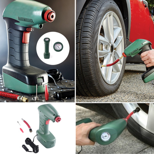 Portable 12v Car Tyre Pump