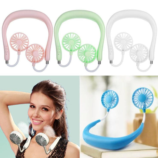 Portable Neck Band Mini Air Fan https://keeto.co.uk/products/portable-neck-band-mini-air-fan Keep cool in the hot weather with this portable neck band mini air fan woman with usb fan USB temperature Summer Blouse summer sticky Small rechargeable fan Rechargeable Portable neck mini fan Mini man kids hot Home garden parties garden fans fan Dual double cooler cool Colour breath blow band air adjustable fan