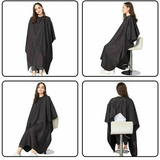 Professional Hair Cutting Gown Black hairdressers cape hairdressers and barbers, women womans woman Unisex Salon Professional pro man kids hairs hairdryers Hairdryer hairdressing hairdresser Hairbrush hair Gown girl's girl gift cutting cut capes Cape boys boy barbers barber aprons Apron