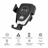 Qi Fast Phone Charger Car Mount Combines Qi fast wireless charger and a car mount holder in one unit smartphones smartphone smart phone smart Qi phones phone mount phone holder phone Mounts Mounted Mountable mount mobiles mobile phone mobile iphones iPhone Holders holder Fast charging chargers charger charge cars caravans caravan car accessories