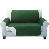 two seater green Quilted Water-Resistant Sofa Protector Ideal for protecting your sofas and chairs against everyday dangers. made with a durable water-repellent finish Diamond-quilted with microfibre filling sofa settees settee Quilted protects Protectors protector protective protection protecting protect Set furniture coverup covers cover chairs chair