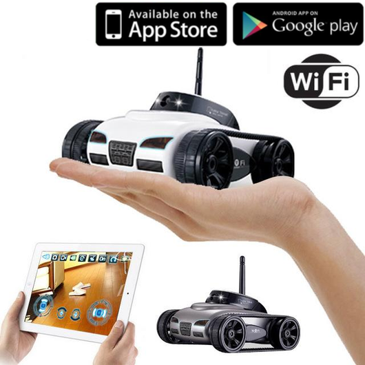 WiFi Video RC Tank