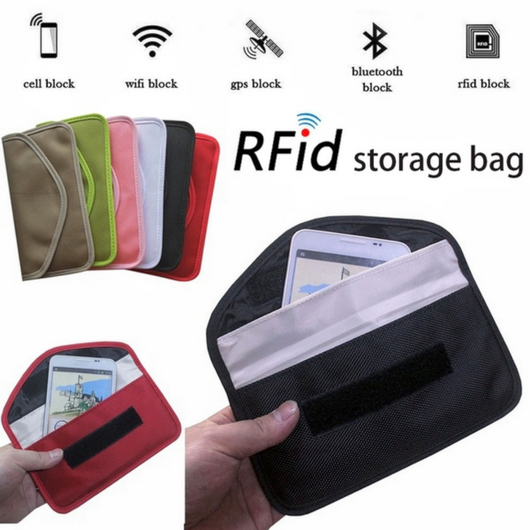 RFID Smartphone Security Wallet