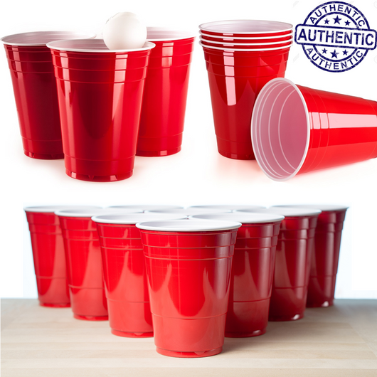 Red American Beer Pong Cups