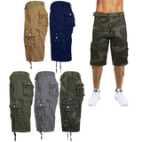 Tactical Reinforced Belted Men's Cargo Shorts Casual and easy to wear, perfect for warmer weather and holidays with weather wear Warmer travel tactical summers summer holiday shorts regular Men's mens wear Men mans man holidays holiday garden fun Fit fashionable fashion dad cool comfortable Classic Casual boys boy belts belt beach 100% cotton