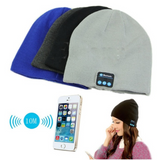 Bluetooth Music Beanie hat with built-in speakers listen to music Take phone calls mic removable Charge via a USB cable women Wireless Unisex travel Smart musician music mobile Men Knitted headsets Headset headphones Headphone hats hat girls earphones earphone Earbuds earbud caps Cap boys Bluetooth beanies Beanie