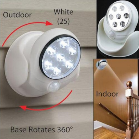 Motion Activated Cordless Sensor LED Light