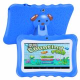 blue Kids' Quad-Core HD Tablet Get your kids these next generation tablets! Brilliant for children's learning, intellectual development, & entertainment tablets quad pcs pc kid-safe kid's kid ipads ipad inch girls girl gift entertainment educational education Core childrens Children child boys boy android 8GB 7""