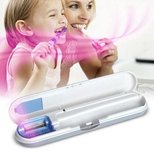 Ultra Violet Toothbrush Sanitizer Case