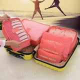 Six-Piece Luggage Organiser