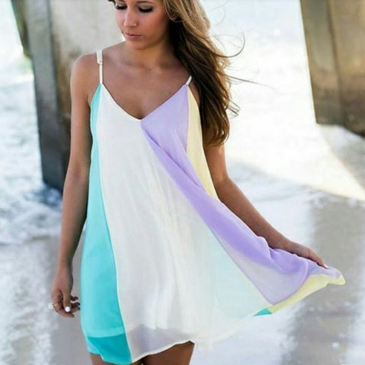 Rainbow Beach Dress