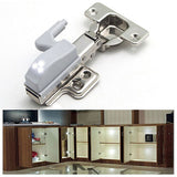Set of 10 LED Cupboard Hinge Lights