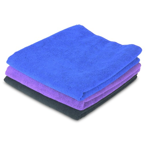 Set of 3 Fast Drying Microfibre Gym Towels