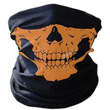 orange Skeleton Skull Bandana Face Mask multi-purpose biker as a bandanna, scarf, beanie, headband, wristband, helmet-liner hair band viruses virus sporty Sportswear sports sport skulls Skiing ski Scarves neck motorbikes Motorbike mask's Hiking Halloween ghosts Ghost faces cyclists cycling coronavirus corona bikes bike bandannas bandanas anti-virus