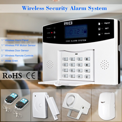 Smart Home Burglar Alarm Quick and simple to install. Keep your home or office secure door sensor or PIR motion sensor loud siren wireless systems system SMS smart phone Sensors Sensor security secure Remote-Controlled remote control motion sensor houses house homes Home gsm Detectors Detector detection detect burglar Apps App alarms