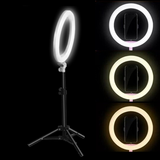 LED Studio Ring with Adjustable Stand